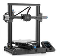 Creality 3D® Ender-3 V2 Verbessertes DIY 3D Drucker kit 220 x 220 x 250 mm Druckgröße Ultra-geräuschloses TMC2208 / Silent 32-Bit-Mainboard / Carborundum-Glasplattform / Mittlere Bohrloch-Stromversorgung / Neuer Support für Farbbildschirme Nach einem Stromausfall