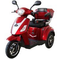Rolektro E-Trike 25 V.2, Rot, 1000W