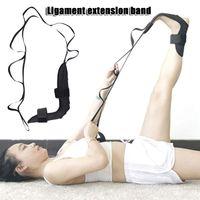 Yoga-Band-Stretching-Gürtel, Bein-Drop-Strap-Beintraining, Fußknöchel Correcti-DR