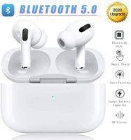 Drahtlose Ohrhörer Bluetooth 5.0 Kopfhörer Rauschunterdrückung Bluetooth-Kopfhörer 3D Stereo IPX5 Wasserdichte Kopfhörer mit Schnellladekoffer für iPhone Apple Airpods Pro / Android In-Ear-Kopfhörer.