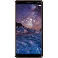 Nokia Smartphone 7 Plus 15,2cm (6 Zoll), Farbe: Schwarz/Kupfer