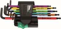 Wera 967 SPKL/9 TORX® BO Multicolour Winkelschlüsselsatz BlackLaser 05024335001
