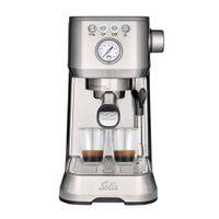 Solis Barista Perfetta Plus 1170 Siebträgermaschine - Kaffeemaschine - Espressomaschine mit Dampf- und Heißwasserfunktion - Siebträger Kaffeemaschine - 16 bar - Edelstahl