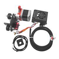 Aibecy Neu Verbessertes 1,75-mm-Filamentextruder-Zuführungs-Kit mit 0,4-mm-Düsendruckkopf Motorträger TPU-Filamentdruck für Creality Ender 3 Ender 3 Pro 3D-Drucker