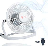 3x USB Ventilator leiser elektrischer Tischventilator mit USB Anschluss