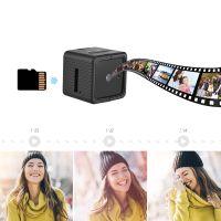 Full HD 1080P Mini-DV-Kamera Intelligente ueberwachungskamera Nachtsicht-Bewegungserkennung mit drehbarer Klemme fuer die Sicherheit zu Hause