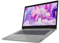 Lenovo IdeaPad 3 17IML05 (81WC00AEGE) 43,94 cm (17,3 Zoll) HD+ Notebook, Pentium 6405U, 8 GB RAM, 256 GB SSD, Windows 10 Home, QWERTZ - Grau
