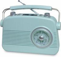 Terris Vintage-Radio mit Bluetooth und DAB+ - blau