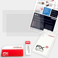 atFoliX FX-Antireflex 2x Schutzfolie kompatibel mit XP-Pen Artist 22 Pro Panzerfolie