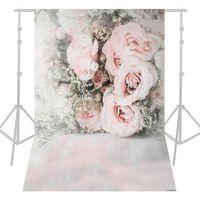 Andoer 1.5 * 2.1m / 5 * 7ft Rose Blume Fotografie Hintergrund Hochzeit Hintergrund Fotostudio Pro
