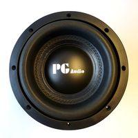 PG Audio Xtreme SPL 08 High End Subwoofer Basslautsprecher 20cm 8 Zoll 1 Stück