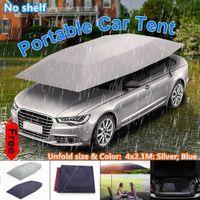 4X2.1M Auto Regenschirmabdeckung Sonnenschutz Autoschutz Oxford Regenschirm UV-best?ndiger Stoff Faltbarer Autohaus Wasserdichte Abdeckung