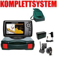 Humminbird Helix 5 DI G2 Down Imaging Echolot Portabel Basic Plus – Komplettsystem