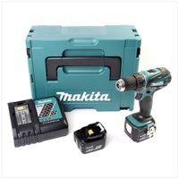 Makita Akku-Bohrschrauber DDF446RMJ Li-Ion, 14,4V, 1 x 4.0Ah und 1 x 3.0Ah, Schnell-Ladegerät, MAKPAC Koffer