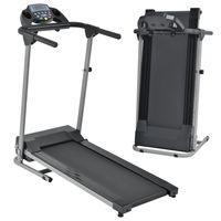 ArtSport Laufband Speedrunner 2000 klappbar, 10 km/h, 12 Programme, LCD Display – Heimtrainer elektrisch 120 kg belastbar - Fitnessgerät 500 Watt