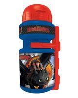Trinkflasche + Halter Fahrrad Kinder 300ml DRAGONS Wasserflasche Radflasche