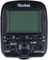 Rollei Profi Funk-Sender 2,4 GHz - Professioneller Funk Blitzauslöser (Blitzsender) für das Rollei Blitzgerät 56F für Sony - Schwarz