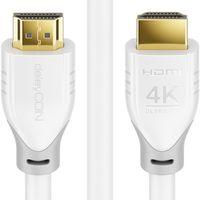 deleyCON 10m HDMI Kabel 2.0 a/b - UHD 2160p 4K@60Hz YUV 4:2:0 HDCP 2.2 3D ARC Dolby Digital + Dolby ATMOS
