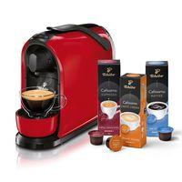 Tchibo Cafissimo PURE inkl. 30 Kapseln – Kaffeemaschine (für Kaffee, Espresso, Caffé Crema und Tee)