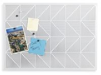 UMBRA Pinnwand Trigon Magnettafel Anschlagtafel Tafel weiß 470790-660