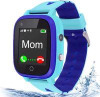 4G Smartwatch für Kinder, Handy Uhr für Kids, mit Anti-verlorener GPS , Videoanruf, Rufen, SOS, Digitalkamera, Voice Chat,für Mädchen oder Jungen (Blau)