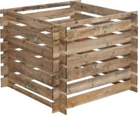 Forest Style Holzkomposter 480 Ltr. Mezzito 100 x 100 x 72 cm