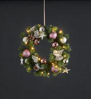 "Star Trading LED-Tannenkranz ""Noel"", ca. 40 cm Ø,"