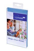 Legamaster Flipchartnotizen Magic 7-159410 10x20cm blau 100 St./Pack.