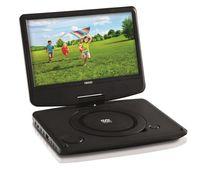Tragbarer DVD-Player Nikkei NPD909 mit USB-Anschluss und 9-Zoll-LCD-Display