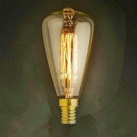 E14 Edison 40 W Retro Vintage Industrie Stil Glühbirne Lampe