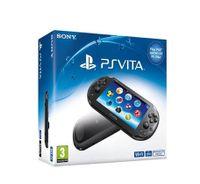 Sony PlayStation Vita Slim, PlayStation Vita, ARM Cortex-A9, SGX543MP4+, 128 MB, 512 MB, Schwarz