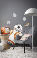 """Komar Deco-Sticker """"Star Wars BB-8"""" 100 x 70 cm, gelb/weiss, 14726h"""