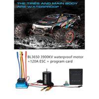 BL3650 3900KV bürstenloser Motor + 120A bürstenloser ESC + Programmkarte Combo