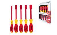 Wiha SoftFinish® electric Sechskant-Steckschlüsselsatz, 5-tlg. (322 K5)