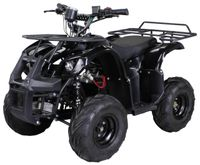 Midiquad Miniquad ATV S-8 1000 Watt Quad Pocket Kinderquad Elektro Pocketquad (Schwarz)