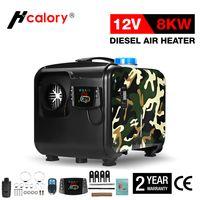 HCalory 12V 5KW 8KW Diesel Standheizung All-in-One-Heizung mit Fernbedienung Und LCD-Thermostat-Monitor für Wohnmobile, Vans, LKWs, Wohnmobilanhänger, Boote
