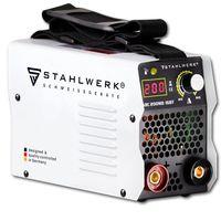 STAHLWERK ARC 200 MD IGBT - Schweißgerät DC MMA / E-Hand Welder mit echten 200 Ampere sehr kompakt, weiß