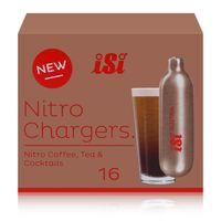 iSi Nitrokapseln/Nitro Chargers 16 Kapseln für Kaffee, Tee, Cocktails (1er Pack)