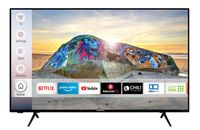 Techwood U43T52E 108 cm / 43 Zoll Fernseher (Smart TV inkl. Prime Video / Netflix / YouTube, 4K UHD mit Dolby Vision HDR / HDR 10 + HLG, Works with Alexa, Triple-Tuner)