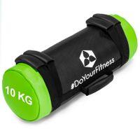 """World Fitness 10kg Corebag Sandsack """"Carolus"""" Power-Bag mit Haltegriffen und Sandfüllung für effektives Bauchmuskeltraining, Krafttraining und Workout"""