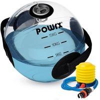 Wasser Medizinball füllbar inkl. Pumpe Wasserball Gewichts Ball Schlaufengriff