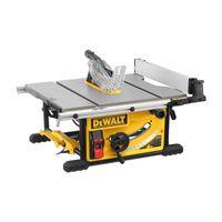 DeWALT Tischkreissäge DWE7492-QS 2000 Watt - Kreissäge, Tischsäge, AirLock-kompatible Staubabsaugung, 250x30 mm