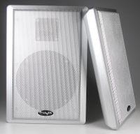 ChiliTec Flatpanel-Lautsprecher, 40W, silber Surround, 4 Ohm, 86dB, 2-Wege, Paar