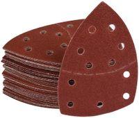 60Stück Klett-Schleifblätter 105x152 mm Körnung je 10 x Korn 40/60/80/120/180/240 für Multischleifer