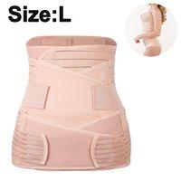 3-in-1-Packung Zur Unterstützung Der Genesung Nach Der Geburt - Bauchband Für Schwangerschaft, Mutterschaft - Gürtel Für Frauen Body Shaper - Shapewear Gürtel