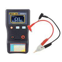 MESR-100 ESR Kapazitaets-Ohmmeter Professioneller Messkapazitaetswiderstand Kondensator-Schaltkreistester mit SMD-Testclip