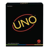 Mattel GYH69 - UNO - Minimalista Kartenspiel, 112 Karten