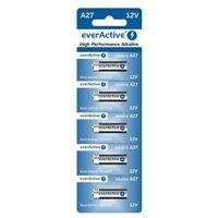 Blister mit 5 Stück Batterien  A27 27A everActive
