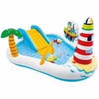 Intex 57162 Fishing Fun Play Center Aufblasbares Kinderpool KinderbeckenEAN: 6941057413082