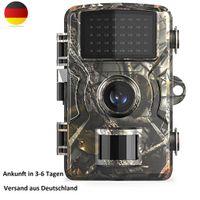 Wildkamera 12MP mit Bewegungsmelder Nachtsicht Wildlife Jagdkamera